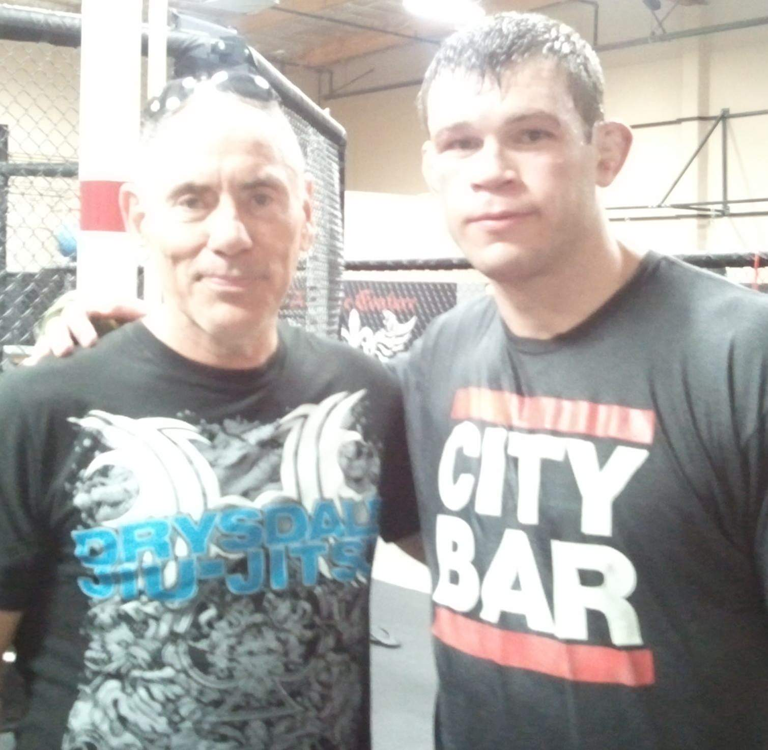Forrest Griffin at Couture Gym